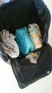マリメッコのリュックBuddyにママ荷物詰めてみた