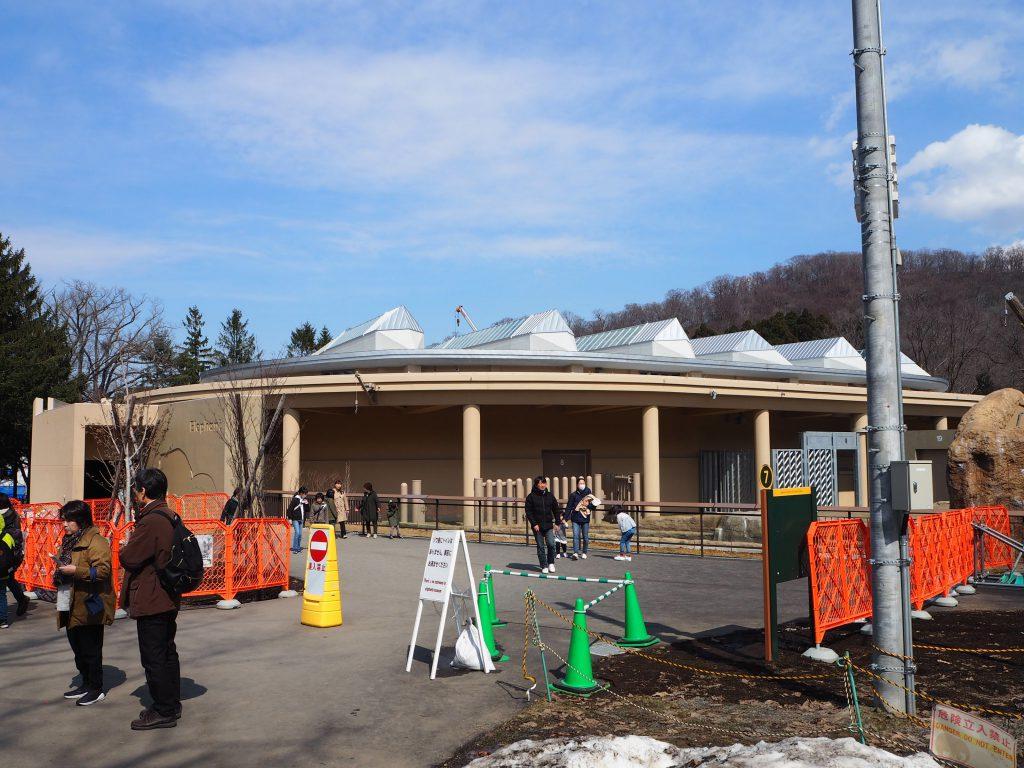 円山動物園のゾウ舎外観