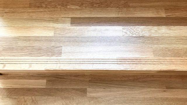 無垢集成材ナラ階段